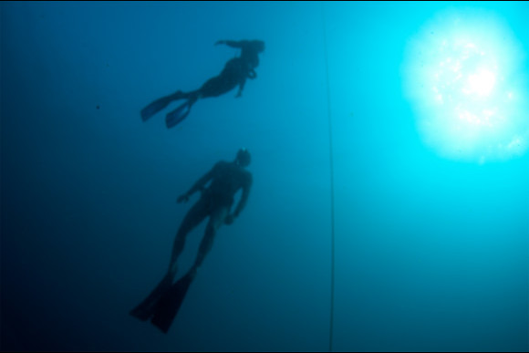 Intro to Freediving in Amed, Bali - 1