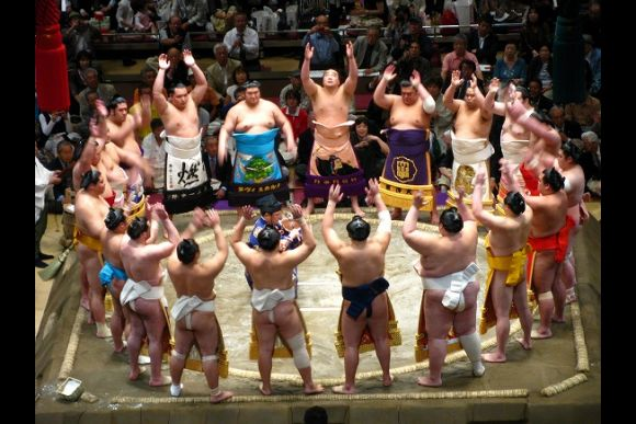 Watch Morning Sumo Training at Sumo Stable in Tokyo! - 0