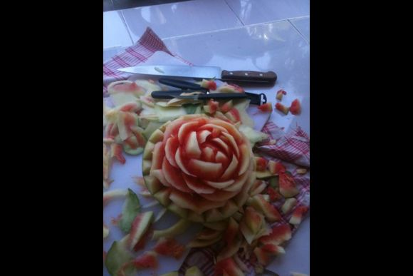 Try Your Hand at Balinese Fruit Carving! - 0