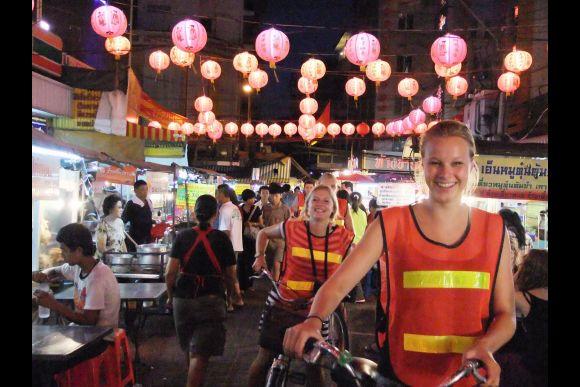 Bangkok by Night (3-hour night bicycle tour) - 0