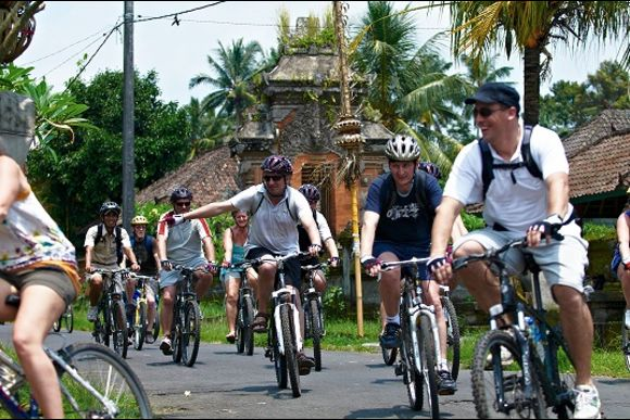 Go Village Cycling around the Scenic Carangsari Village - 0