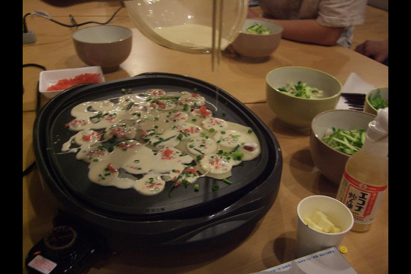 Takoyaki Night with a Japanese college student!  - 0