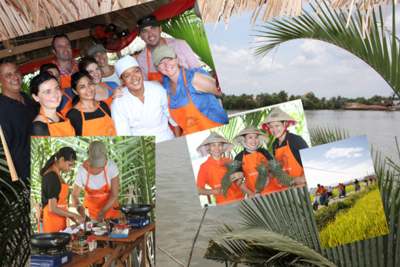 A Glimpse of the Mekong with Cooking Class (On a Vespa) - 0
