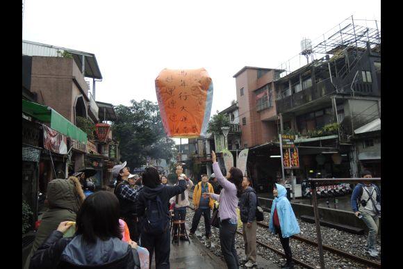 Take a Railway Trip and Launch a Sky Lantern in Pingxi - 0
