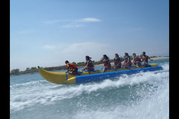 Go on a Banana Boat Ride in Bali - 0