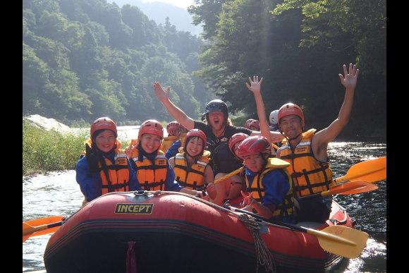 River Rafting in Tama River - 0