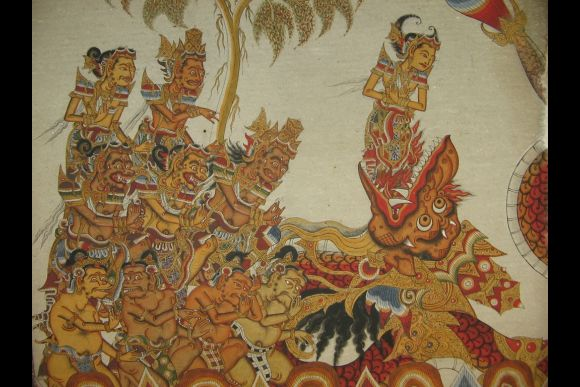 Create Your Own Kamasan-style Wayang Painting - 0
