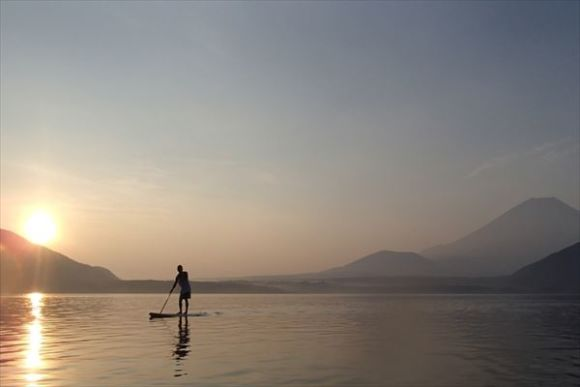 Enjoy Stand Up Paddle around Mt Fuji's Five Lakes - 0