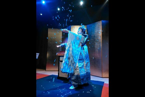 Enjoy a Japanese Cultural Dinner Show in Tokyo (April only) - 0