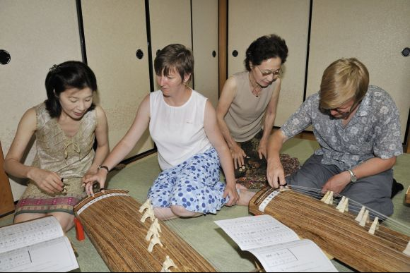 Take a Koto Lesson at a Traditional House in Kyoto - 0