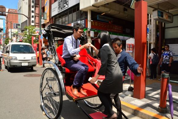 Enjoy a historical rickshaw tour in Asakusa with Ebisuya! - 0