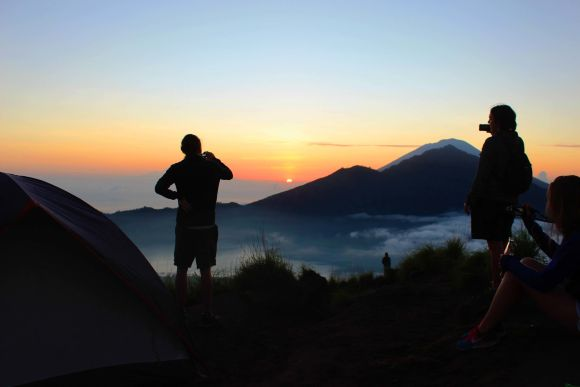 Camp Overnight atop Mt. Batur and see the Sunset & Sunrise - 0