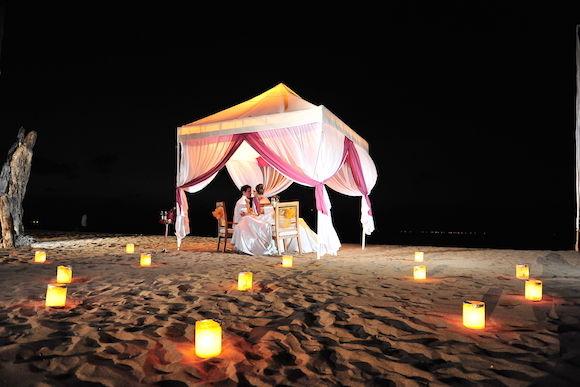Romantic Candlelight Dinner On The Beach Around Kuta - 0