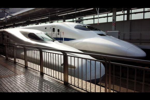 See the high-speed Shinkansen and eat Tempura in Osaka - 0