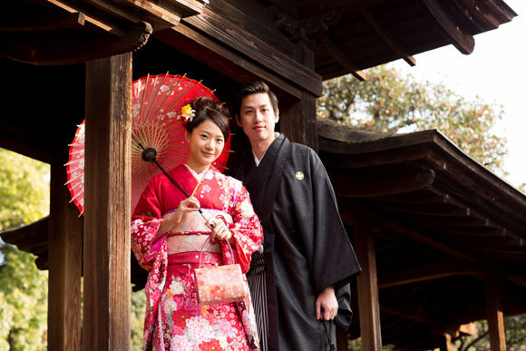 Premium Kimono Rental in Kyoto: Furisode, Montsuki Hakama! - 0