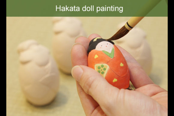 Enjoy Painting Hakata Dolls in Fukuoka - 0