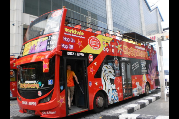 5% OFF Hop On Hop Off Bus Singapore: Tour The Iconic Sights - 0