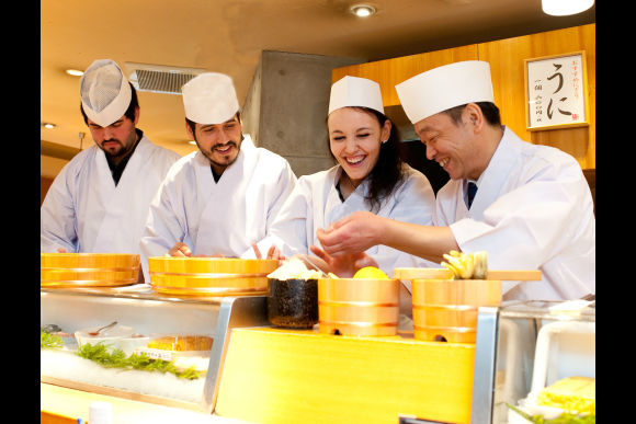 Enjoy a Private Sushi Lesson with a Master Chef in Tsukiji - 0