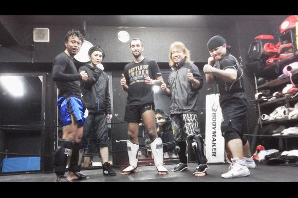 Practice kickboxing in Tokyo - 0