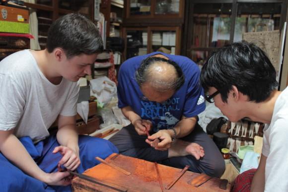Enjoy Japanese Music Instruments and Chopsticks-making - 0