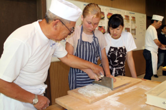 Experience making and eating soba noodles & Asakusa tour - 0