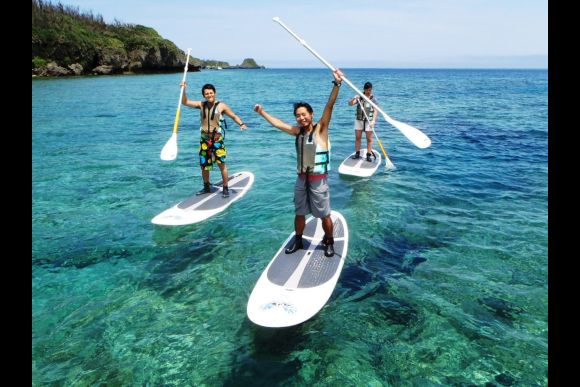 Try a Stand Up Paddle adventure in Okinawa! - 0