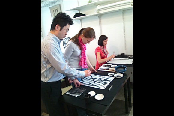 Learn Traditional Chinese and Japanese Water Painting - 0