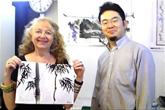 Learn Traditional Chinese and Japanese Water Painting - 1