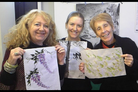 Learn Traditional Chinese and Japanese Water Painting - 2
