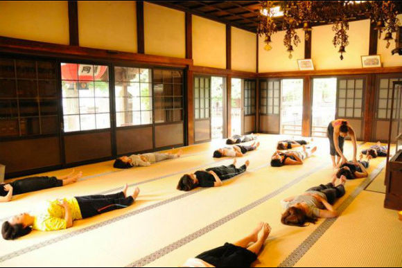 Do Zen Meditation and Pilates at a Temple - 1