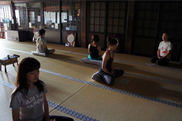 Do Zen Meditation and Pilates at a Temple - 2