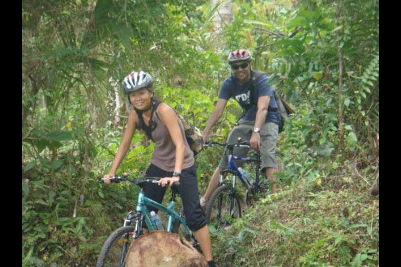 Cycle down a volcano and through the rice fields of Bali - 0