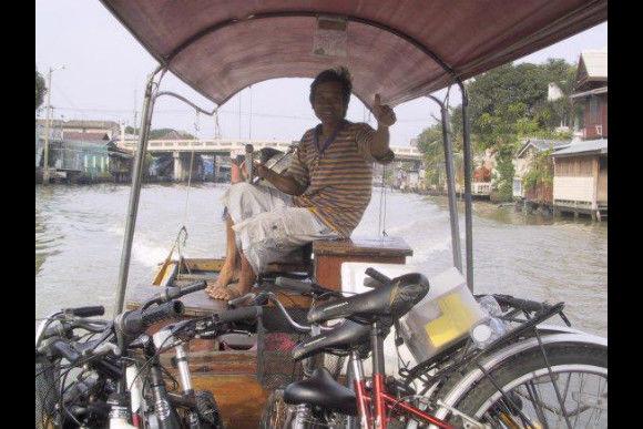 Bike Khao San Road's hidden streets and back alleys - 0