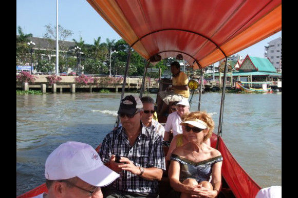 Ride a Rocket Boat in the canals of Bangkok - 2