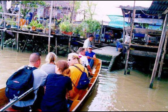 Explore the ancient canals of Bangkok - 0