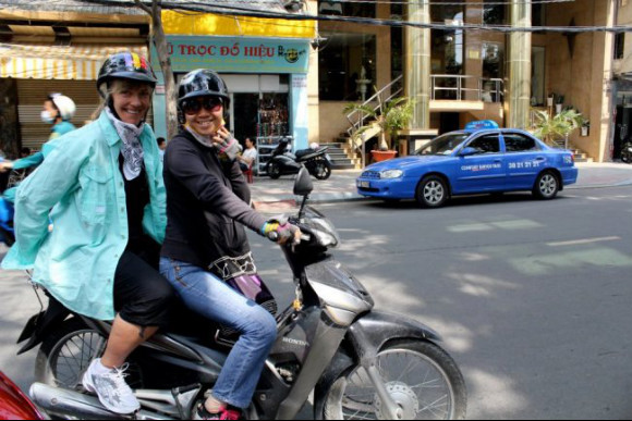 Savour the street food of Ho Chi Minh City on a motorbike - 2