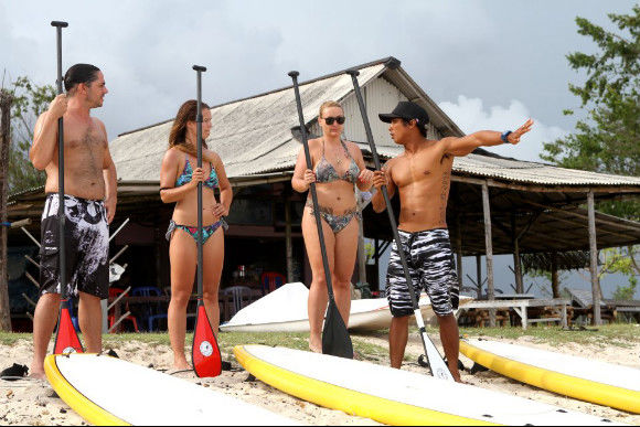 Learn Stand-Up Paddle - 4