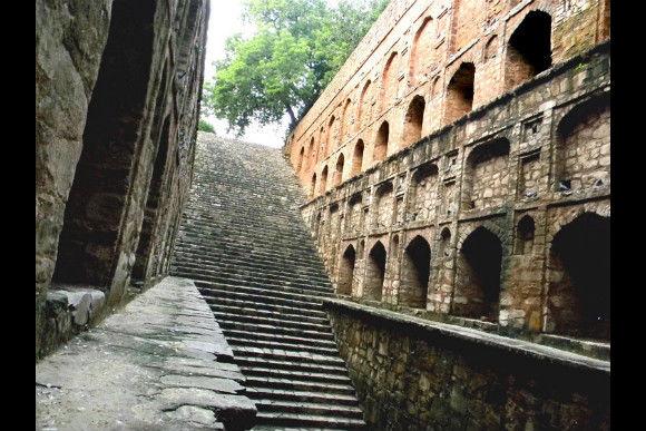 In Search of Lost Water: Baolis (step-wells) of Delhi - 0