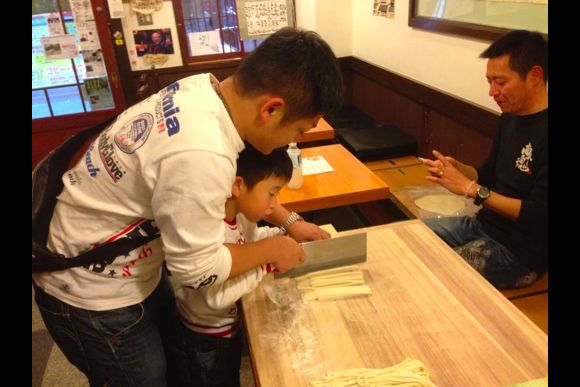 Experience Handmade Udon Noodle Making - 2