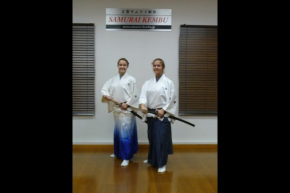 Learn How to Become a Samurai (2 Hour Lesson in Costume) - 0