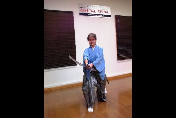 Learn How to Become a Samurai (3 hours Lesson in Costume) - 2