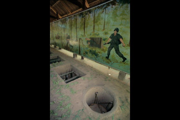 Ride on a speedboat and visit the Cu Chi Tunnels  - 1