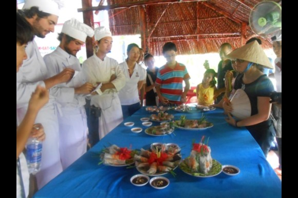 Build team spirit with a cooking class in Cu Chi - 0