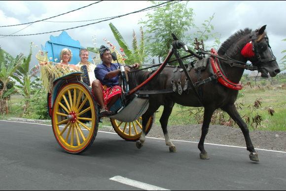 Enjoy a Romantic Sunset Horse-Drawn Bendi Ride - 0