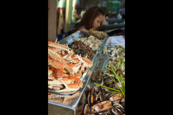 Ride and Eat Through Saigon After Dark (On Vintage Vespa) - 1