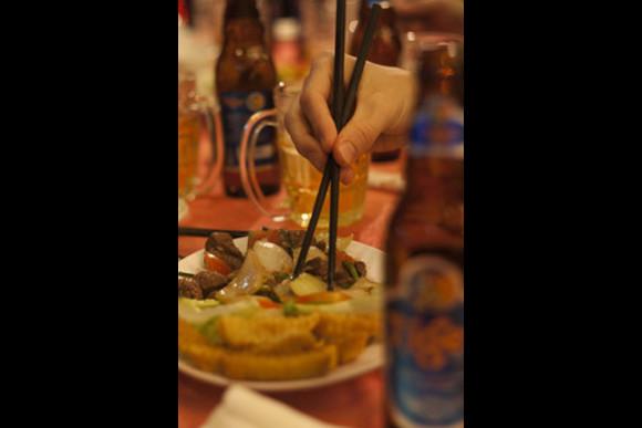 Ride and Eat Through Saigon After Dark (On Vintage Vespa) - 2