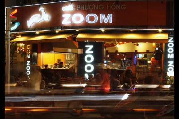 Ride and Eat Through Saigon After Dark (On Vintage Vespa) - 3