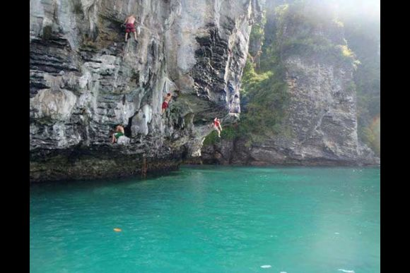 Experience Deep Water Solo Within a Secluded Lagoon - 1