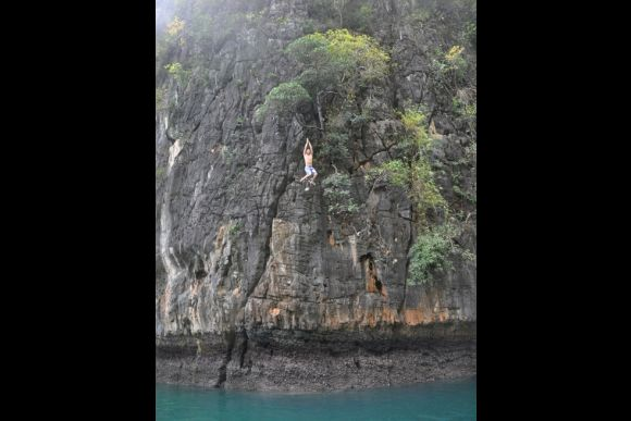 Experience Deep Water Solo Within a Secluded Lagoon - 2