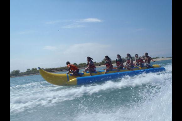Go on a Banana Boat Ride in Bali - 0